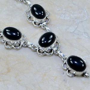On 0301d collier sautoir onyx noir parure bijou 1900 art deco achat vente