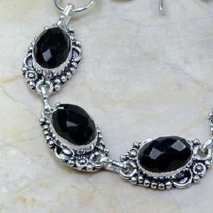 On 0311b bracelet onyx noir achat vente bijou argent 925