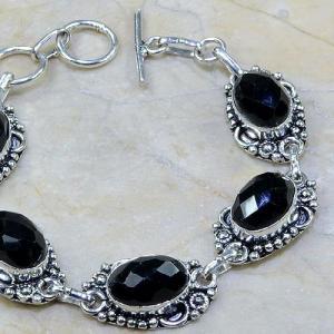 On 0311c bracelet onyx noir achat vente bijou argent 925