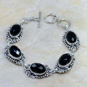 On 0311d bracelet onyx noir achat vente bijou argent 925