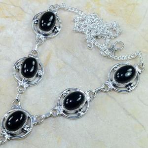 On 0313b collier sautoir onyx noir parure bijou 1900 art deco achat vente