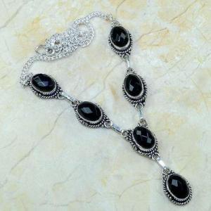 On 0363d collier sautoir onyx noir parure bijou 1900 art deco achat vente