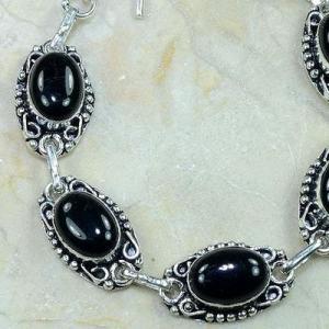 On 0381b bracelet onyx noir achat vente bijou argent 925