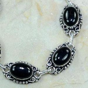 On 0381c bracelet onyx noir achat vente bijou argent 925