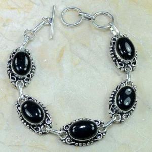 On 0381d bracelet onyx noir achat vente bijou argent 925