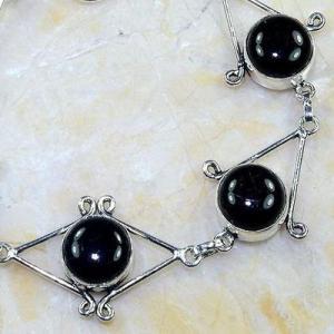 On 0402c bracelet onyx noir achat vente bijou 1900 belle epoque argent 925