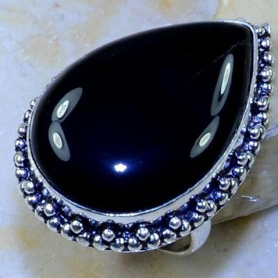 On 0462a bague 59 gemme onyx noir bijou 1900 art deco achat vente 1
