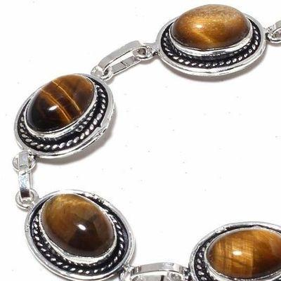 Ot 1012c bracelet oeil de tigre 20gr argent 925 achat vente bijoux ethnique 1 1