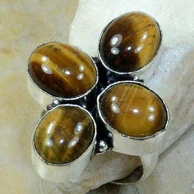Ot 7047a bague oeil de tigre achat vente bijou argent 925