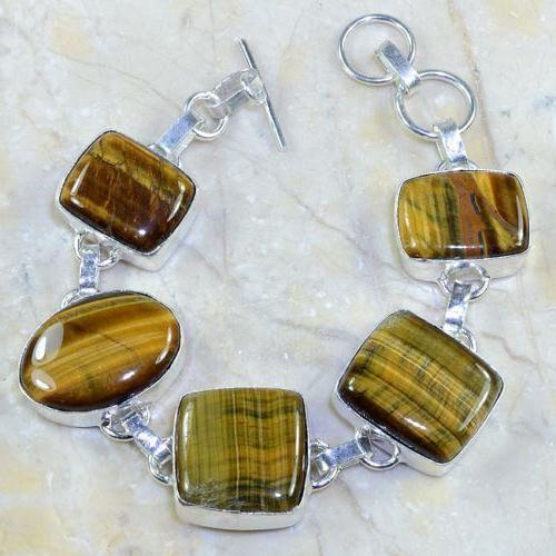 Ot 7804d bracelet oeil de tigre achat vente bijou argent 926