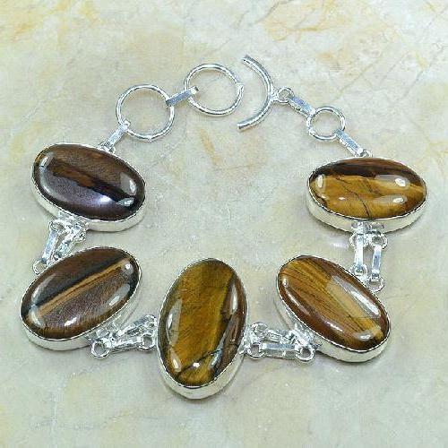 Ot 7809a bracelet oeil de tigre achat vente bijoux argent 925