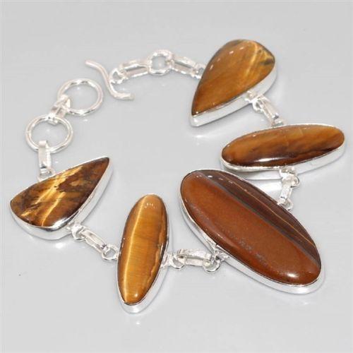 Ot 7812a bracelet oeil de tigre achat vente bijoux argent 925
