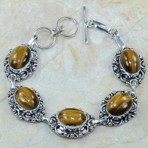 Ot 7817a bracelet oeil de tigre achat vente bijoux argent 925