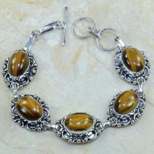 Ot 7817d bracelet oeil de tigre achat vente bijoux argent 925