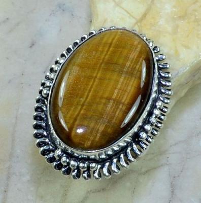 Ot 7819a bague t57 oeil de tigre argent 925 achat vente bijoux