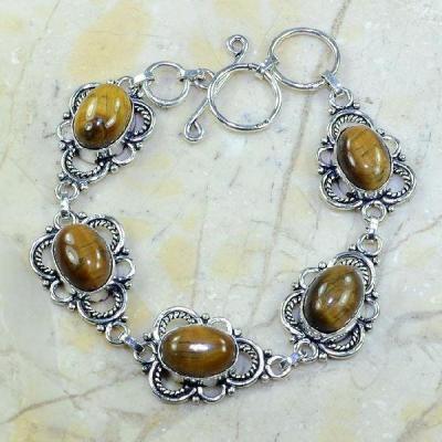 Ot 7820a bracelet oeil de tigre achat vente bijoux argent 925
