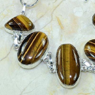 Ot 7824b bracelet oeil de tigre argent 925 achat vente bijoux