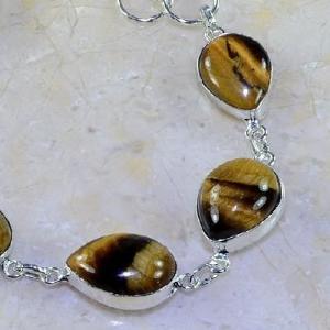 Ot 7835c bracelet oeil de tigre argent 925 achat vente bijoux