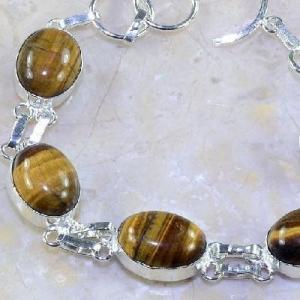 Ot 7854c bracelet oeil de tigre argent 925 achat vente bijoux