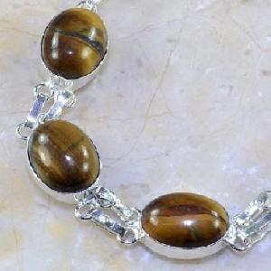 Ot 7856c bracelet oeil de tigre argent 925 achat vente bijoux