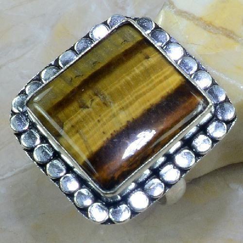Ot 7870a bague chevaliere t61 oeil de tigre argent 925 achat vente bijoux