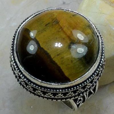 Ot 7871a bague chevaliere t59 oeil de tigre argent 925 achat vente bijoux