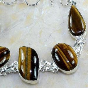 Ot 7873c bracelet oeil de tigre argent 925 achat vente bijoux