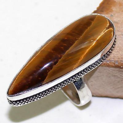 Ot 7886a bague chevaliere t56 oeil de tigre argent 925 achat vente bijoux