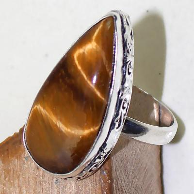 Ot 7887c bague chevaliere t64 oeil de tigre argent 925 achat vente bijoux