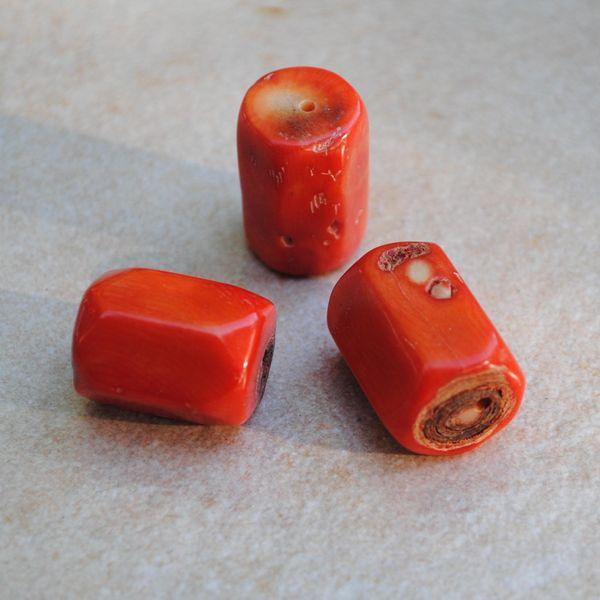 Pcr 034 perle corail rose orange achat vente bijou loisirs creatifs 1