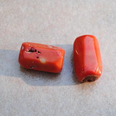 Pcr 036 perle corail rose orange achat vente bijou loisirs creatifs 2