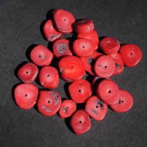 Pcr 044 1 perles corail 18x12mm 50gr achat vente loisirs creatifs