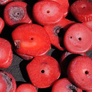 Pcr 044 3 perles corail 18x12mm 50gr achat vente loisirs creatifs