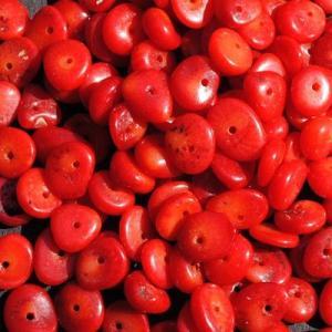 Pcr 046 1 perles corail 6x7mm 30gr achat vente loisirs creatifs
