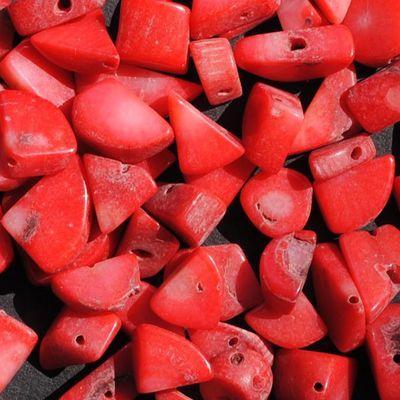 Pcr 047 2 perles corail irregulieres 30gr achat vente loisirs creatifs