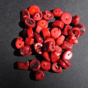 Pcr 048 2 perles corail 10x12mm 52gr achat vente loisirs creatifs