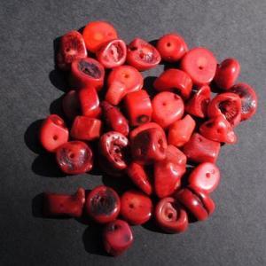 Pcr 048 4 perles corail 10x12mm 52gr achat vente loisirs creatifs