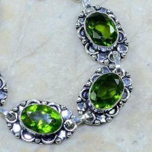 Per 003b bracelet peridot argent 925 achat vente bijoux 2