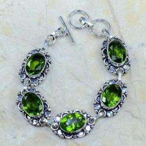 Per 003c bracelet peridot argent 925 achat vente bijoux 1