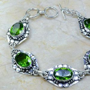 Per 049b bracelet peridot argent 925 achat vente bijoux