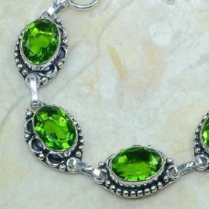 Per 057b bracelet peridot argent 925 achat vente bijoux