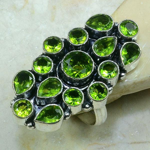 Per 064a bague t62 peridot argent 925 achat vente bijoux 1