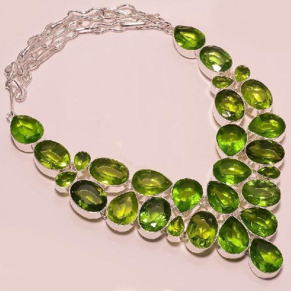 Per 102a collier parure sautoir peridot argent 925 achat vente bijou 1