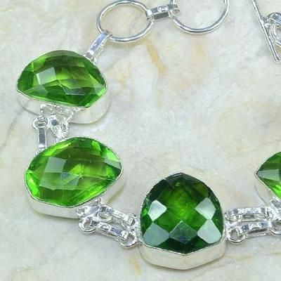 Per 117b bracelet peridot bijou argent 925 achat vente