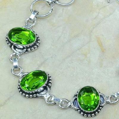 Per 121b bracelet peridot bijou argent 925 achat vente