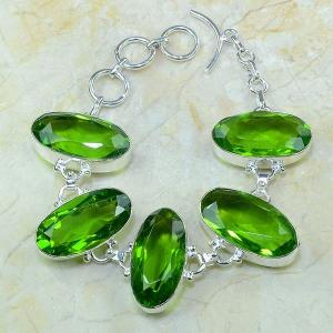 Per 131a bracelet peridot bijou argent 925 achat vente 1