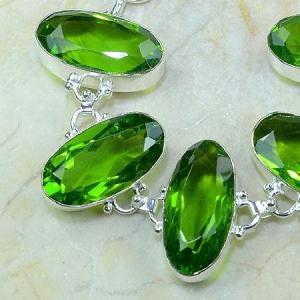 Per 131b bracelet peridot bijou argent 925 achat vente