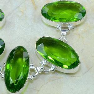 Per 131c bracelet peridot bijou argent 925 achat vente