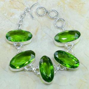 Per 131d bracelet peridot bijou argent 925 achat vente