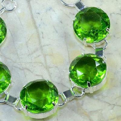 Per 146b bracelet peridot argent 925 achat vente bijoux